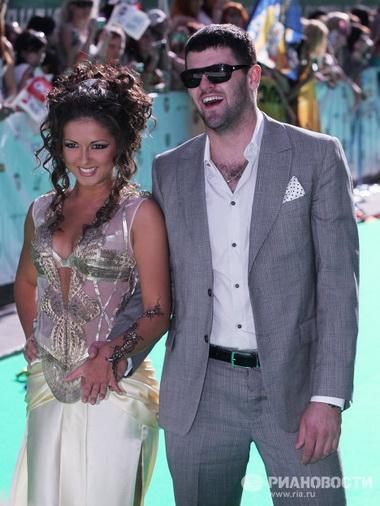 Нюша и Александр Радулов